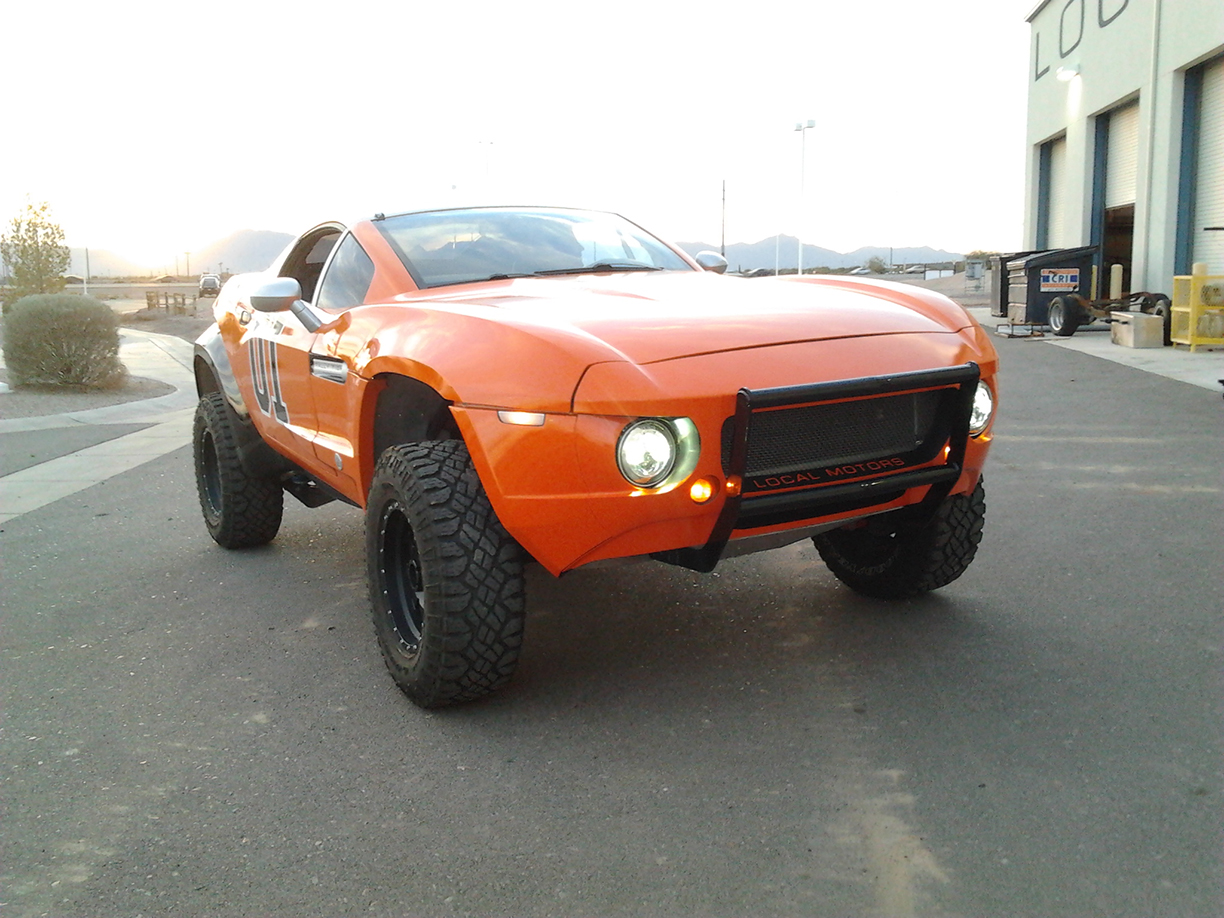 Vehicle Wraps Maine, General Lee Wrapped Rally Fighter