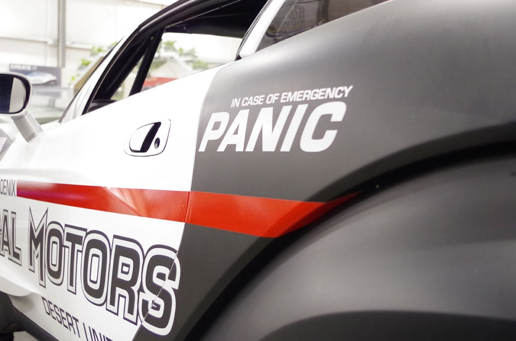 Rally Fighter Police Car, In Case Of Emergency PANIC!
