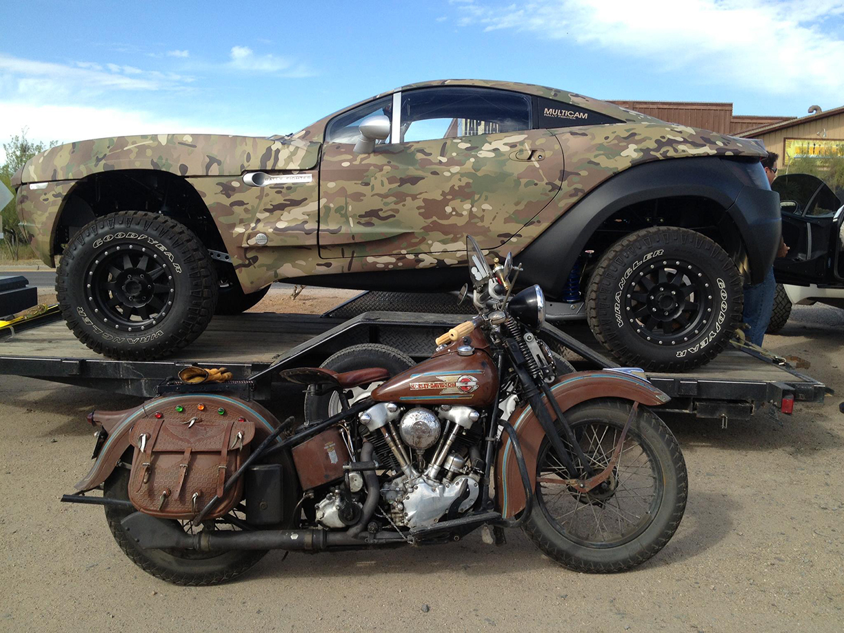 custom 4 wheelers