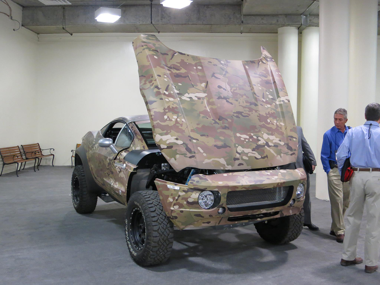 Multicam Vehicle Wrap