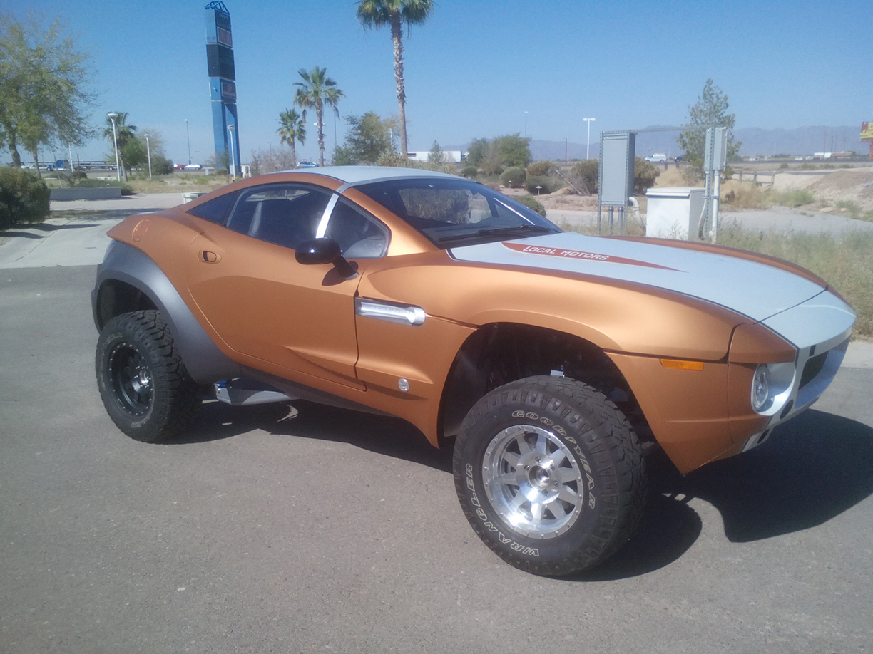 Local Motors Rally Fighter >> Avery Metallic Orange