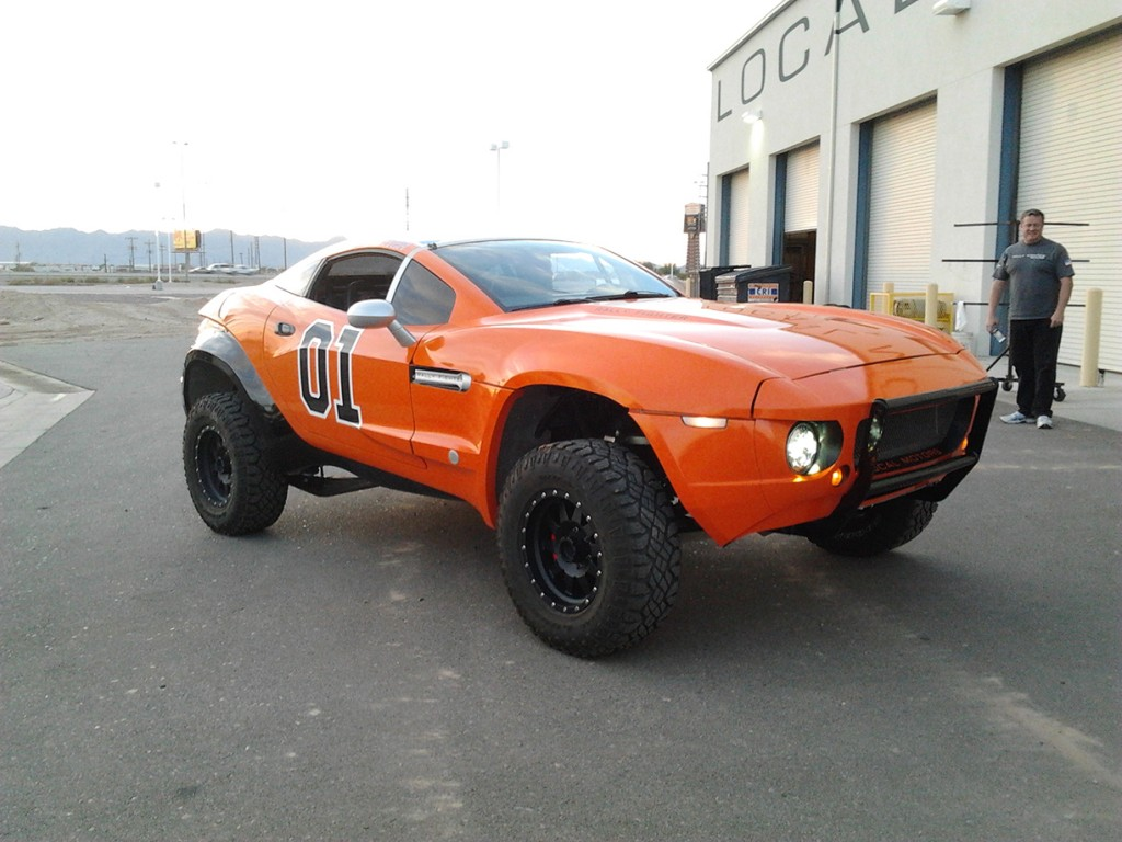 General Lee Wrap, Vehicle Wraps Maine