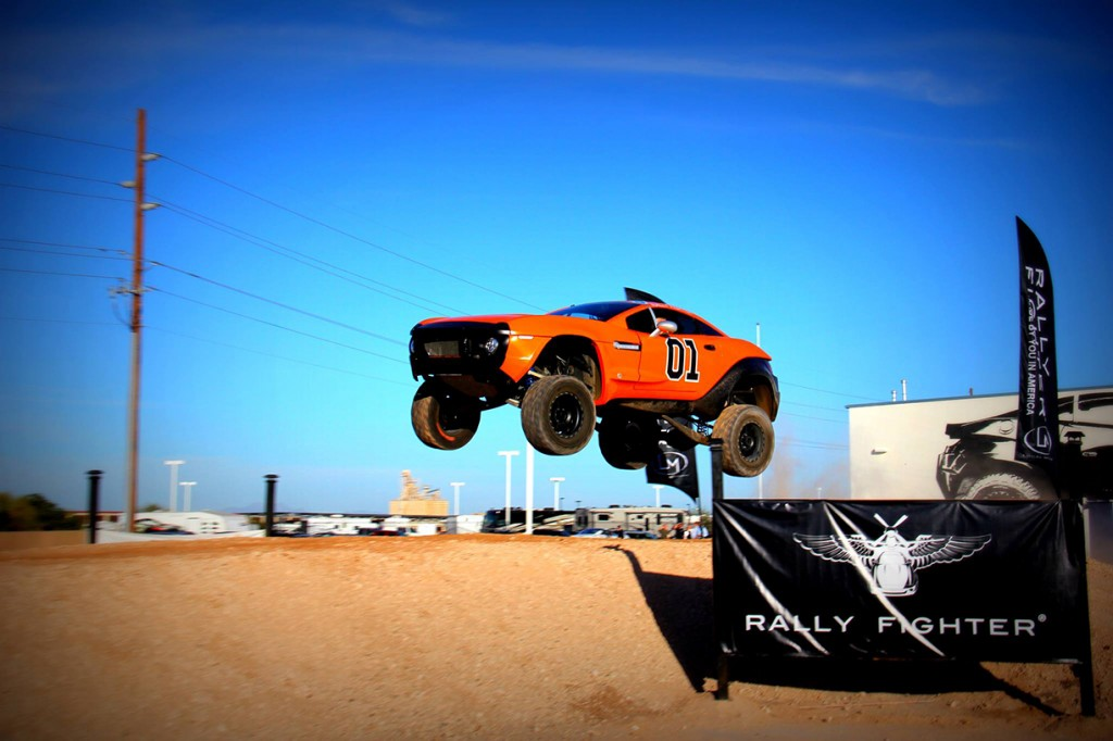 Rally Fighter General Lee Jumping, Eric The Designer