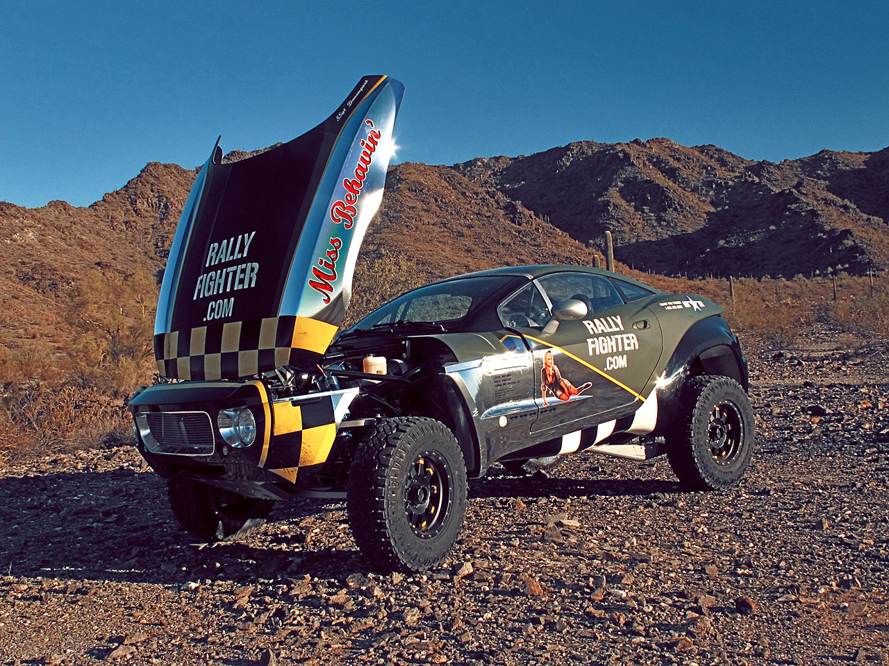 Local Motors Rally Fighter >> Vehicle Wrap 1080 Film