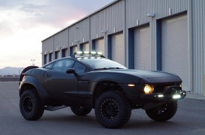t4 Scary Car, Vehicle Wraps Maine, Black Rally Fighter