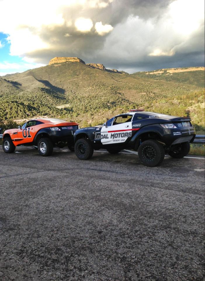 Police Rally Fighter and General Lee Rally Figher