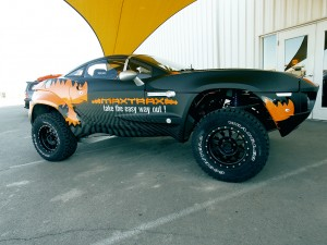Vehicle Wraps Maxtrax Side