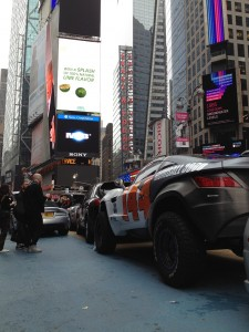 Vehicle Wraps Maine, Rally FIghter Gumball Car in Time Square