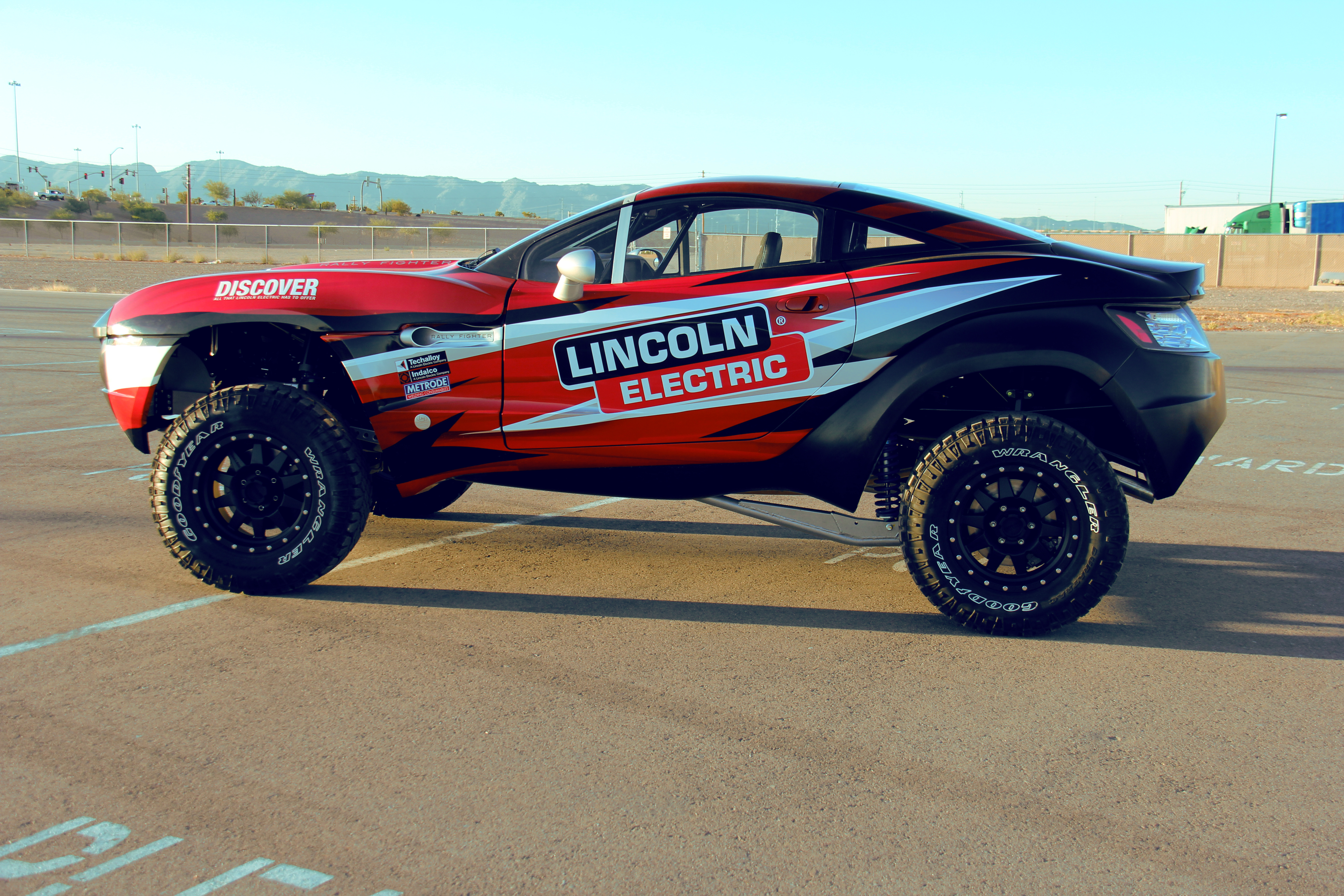 Lincoln Electric Rally Fighter Wrap