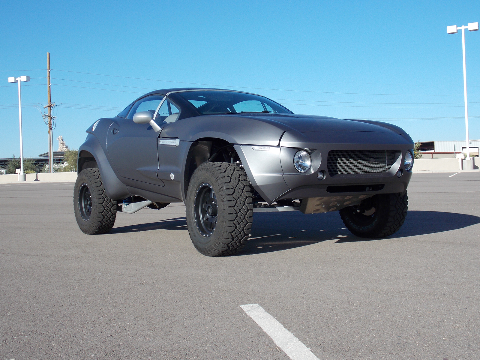 Local Motors Rally Fighter >> 3M 1080 Matte Silver with Silver Fenders Rally Fighter Wrap