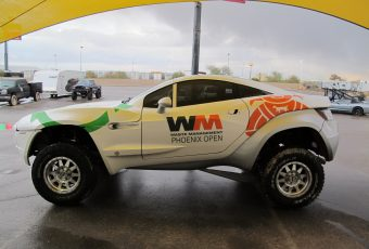 Waste Management Phoenix Open Rally Fighter Wrap