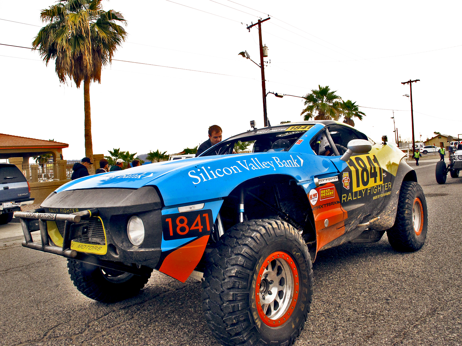 Rally Fighter Baja Car By Tammy Ginneo