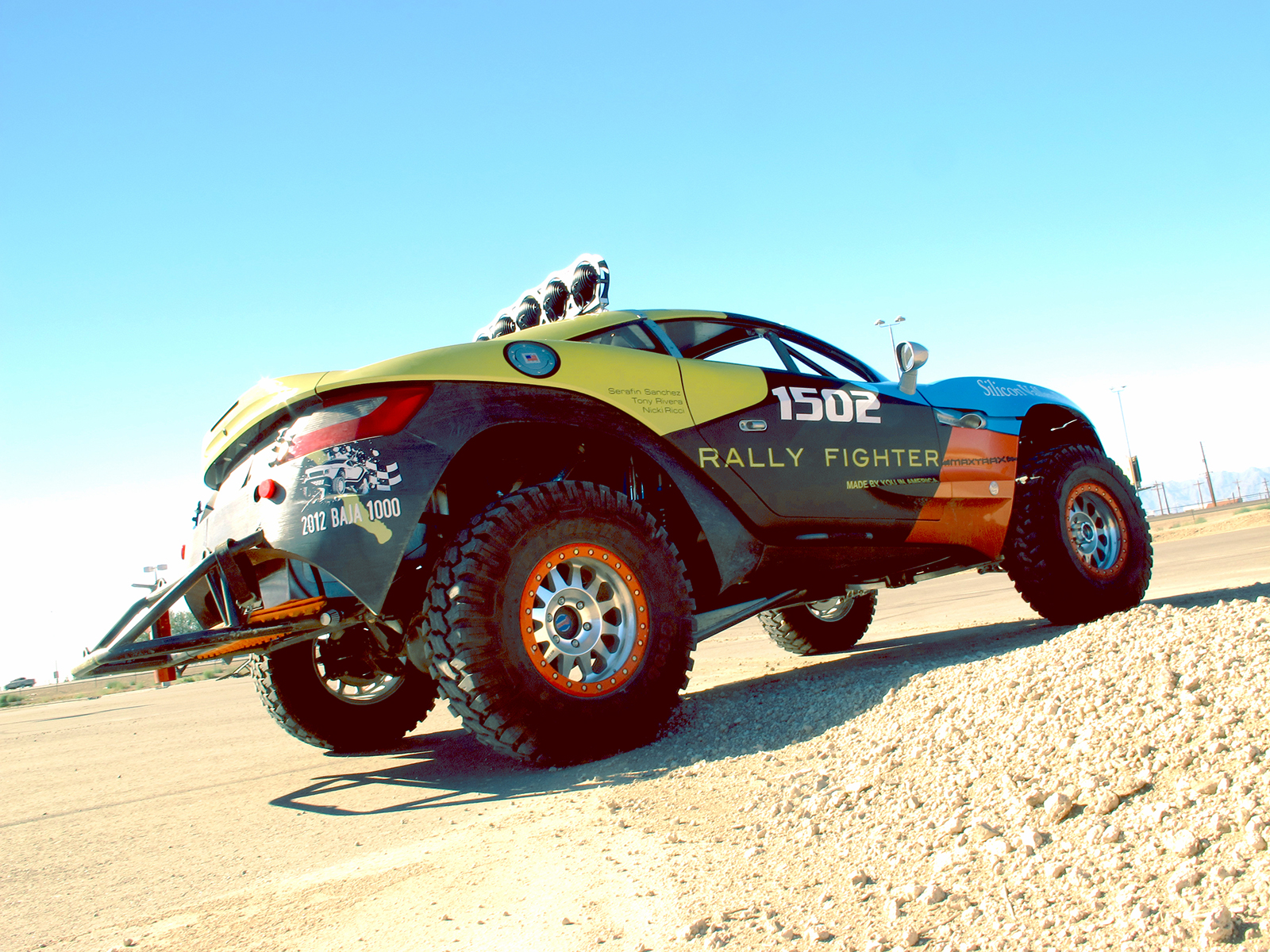 Local Motors Rally Fighter >> Rally Fighter Baja Car by Tammy Ginneo
